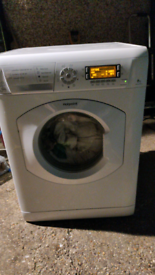 Hotpoint 8kg washing machine can deliver.