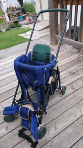 Toddler carrier for hiking also use as a stroller