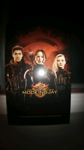 The Hunger Games Mockingjay Wood Poster