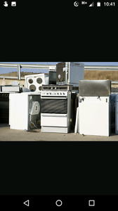 Free scrap removal(old appliances,cars farm machinery ) etc