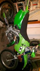 1993 Kawasaki KX125 with 2003 plastics