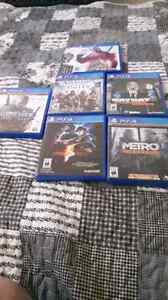 Ps4 games mint condition Kitchener / Waterloo Kitchener Area image 1