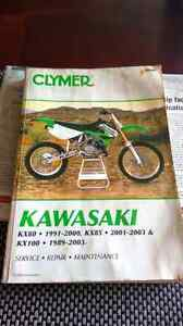 Kawasaki kx 80 to 85 to 100 service manual