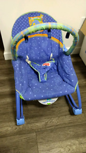 Rocker and feeding chair