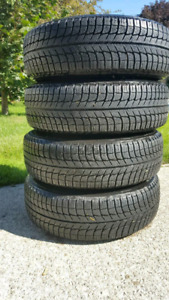 Winter tires with rims Michelin X-ice 215/70R15