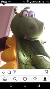 ORIGINAL Dudley the Dragon 8ft tall costume from 1993 TV series