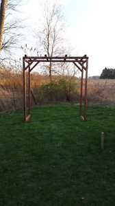 Wedding custom arbor