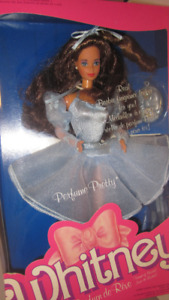 1987 Perfume Pretty Whitney Barbie doll (Parfum de Rêve)