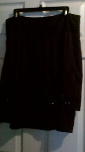 fancy Nygard skirt with brocaide and sequin on hem