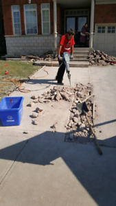 Cement Concrete Removal and Disposal