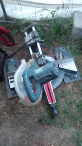 large radial chop saw