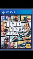 WANTED: GTA 5 FOR THE PS4