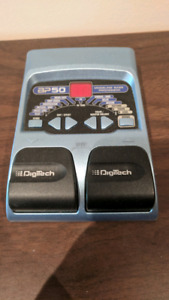 Digitech multi-effects pedal for bass