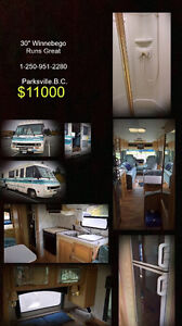 Awesome 30 Foot 1992 winnebego