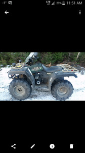 yamaha grizzly 600 to trade for suzuki arctic cat or polaris