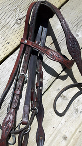 BRIDLE AND BREAST PLATE