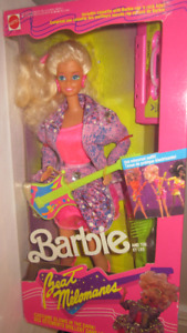 1989 Barbie Beat Melamones Barbie doll
