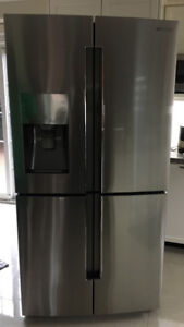 Refrigerator- French 4- Door - Bargain price  (moving sale)