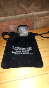 2013 Memorial Cup Champions Halifax Mooseheads ring