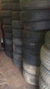 Snow tires many sizes