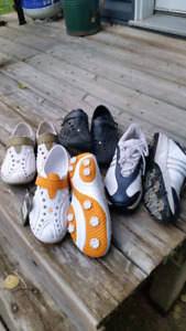 4 Pairs- Ladies Size 8 Golf Shoes