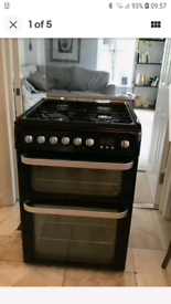 Hotpoint duel fuel cooker