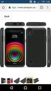 LG X Power Case