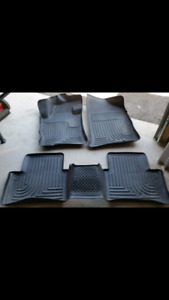 All-weather floor  mats from a 2009 Nissan Altima. (2007-2012)