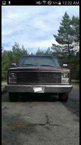 1986 c10 price reduced need gone before winter.