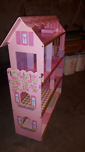 Large doll house with elevator