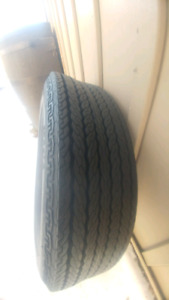 SINGLE Vintage tire from 1977