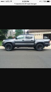 Looking for Tacoma trd off road double cab