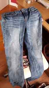Jeans délavés taille 8 Gatineau Ottawa / Gatineau Area image 1