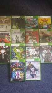 X box 360 games!! A lot of them