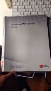 Operations Management GMS 401 Ryerson Text Book