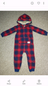 Carters fleece outfit 24 Months
