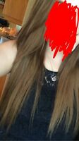 """18"""" real hair extensions"""