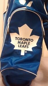 Toronto Maple Leafs Golf Bag with stand