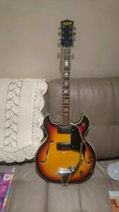 Granada Hollow Body Electric Guitar