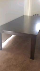 Huge dining table - Harvey Norman. 240cm X 120cm