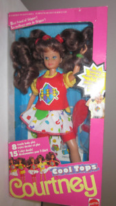 1989 Cool Tops Courtney Barbie Doll