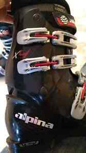 Mens alpina ski boots size 11.5 Prince George British Columbia image 3