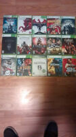 XBOX 360 w/ 15 games and 6ft HDMI cable in Amherst NS