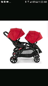 Like new Contour Options double stroller