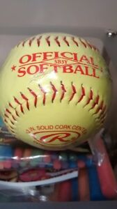 Official Softball by Rawlings