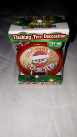 BRAND NEW FLASHING TREE DAUGHTER DECORATION