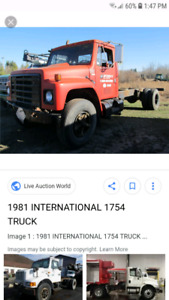 Looking for a single axle cab and chassis