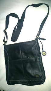 Never used.  - SAK  leather cross- body PURSE