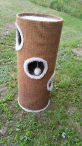 Cat condo/ scratchpost/ bed from non smoking home