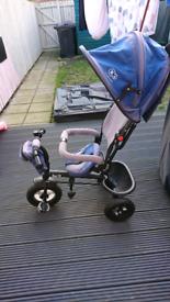 Kinderkraft 6in1 Swift trike (broken screw) blue children toddler